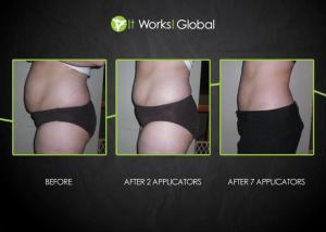 before and after 7 wraps